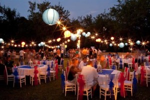 Outdoor Corporate Party
